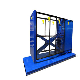 Stationairy Pallet Changer
