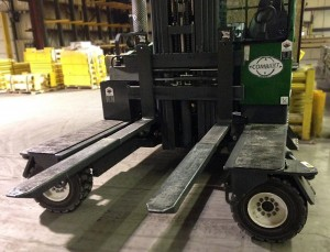 Manual KOOI-REACHFORKS® on Combilift C10000