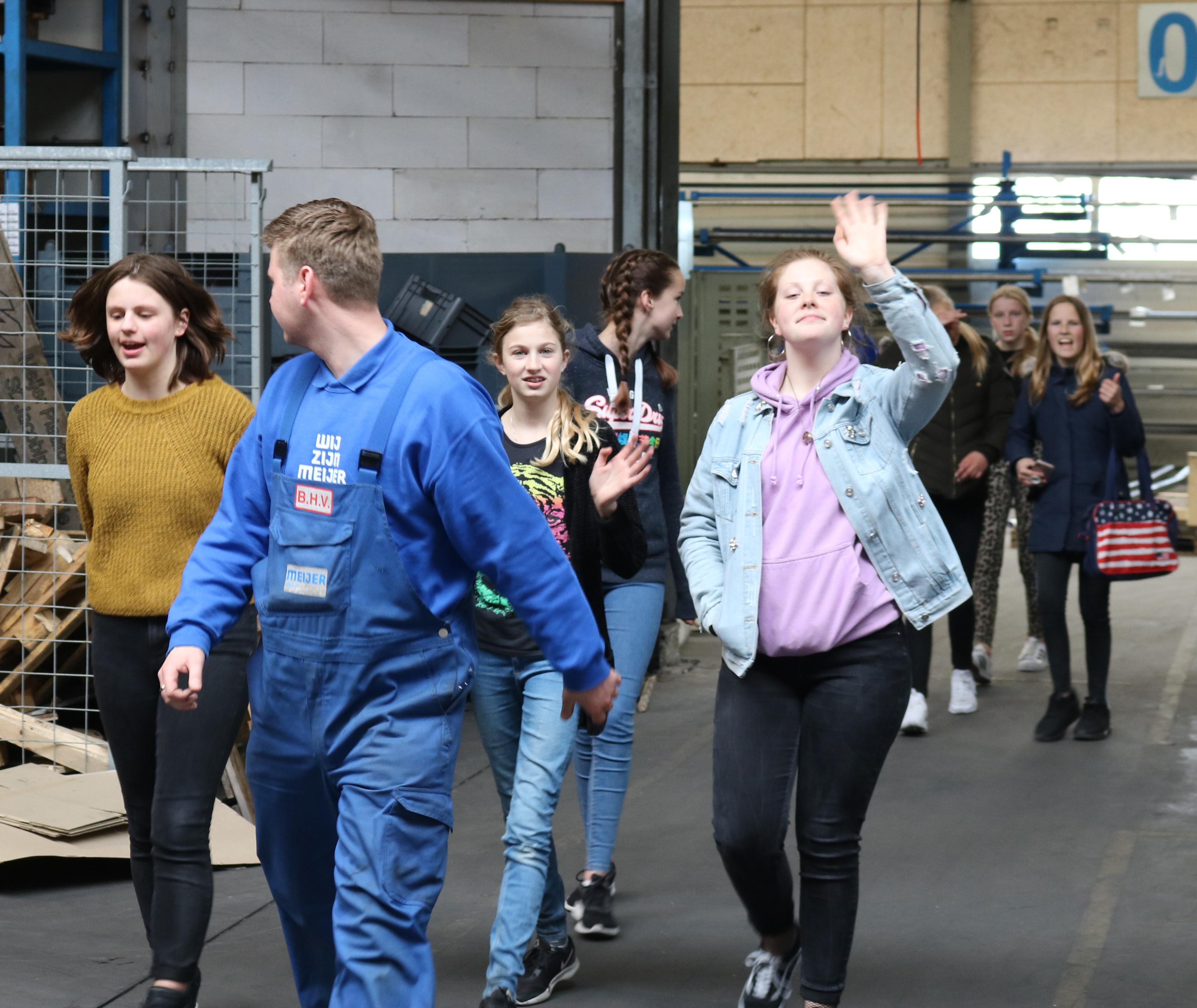 Girlsday strijkt neer bij de Meijer Group
