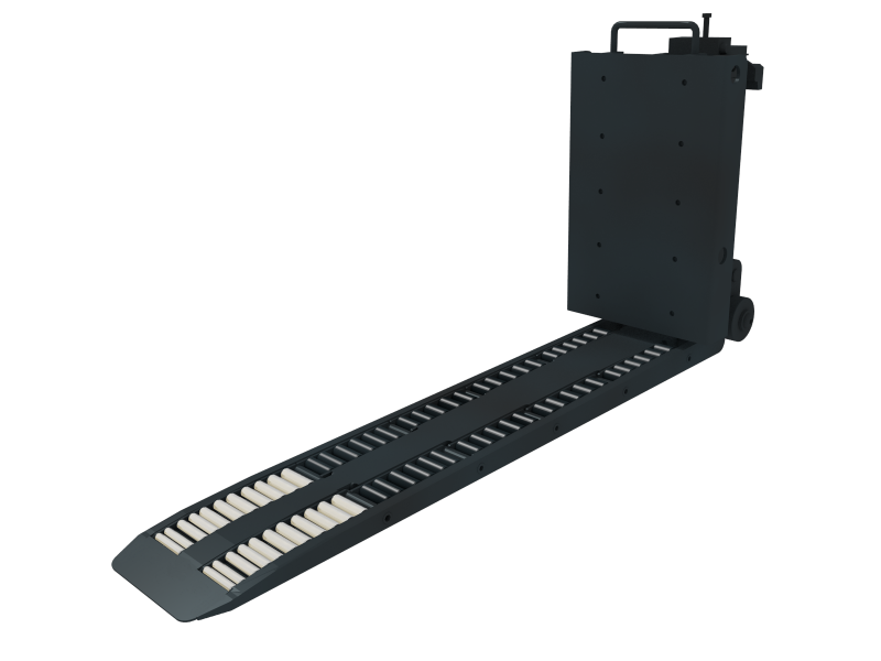 Rollerfork with Foldable palletstop