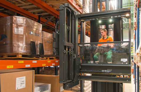 VNA Unicarriers lift truck